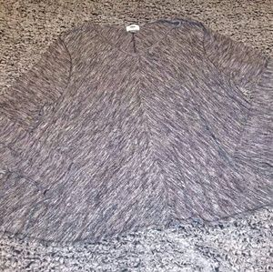 Old Navy oversized poncho type lightweight sweater